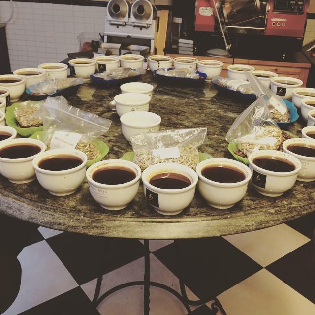 Las catas brasileñas de café