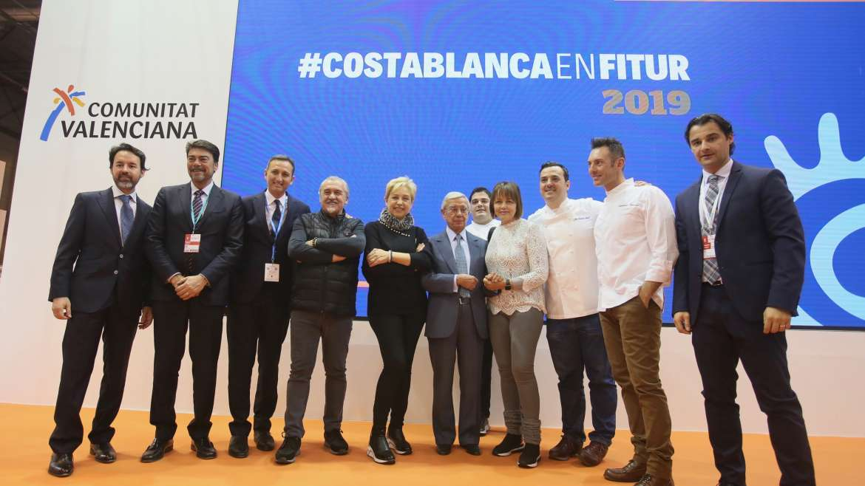 La Costa Blanca exhibe en Fitur su potencial gastronómico