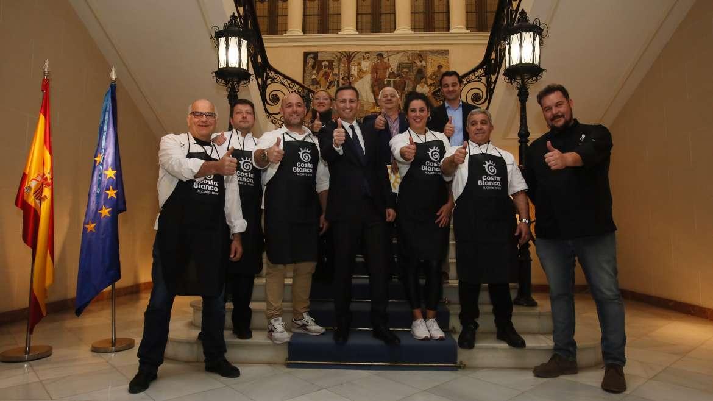 La gastronomía, eje de la promoción turística de la Costa Blanca en 2019