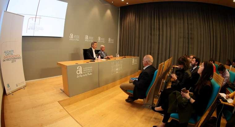La Academia de Gastronomía del Mediterráneo celebrará su asamblea anual en Alicante
