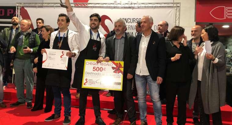 Alejandro Serrano gana el VIII Concurso de la Gamba de Dénia