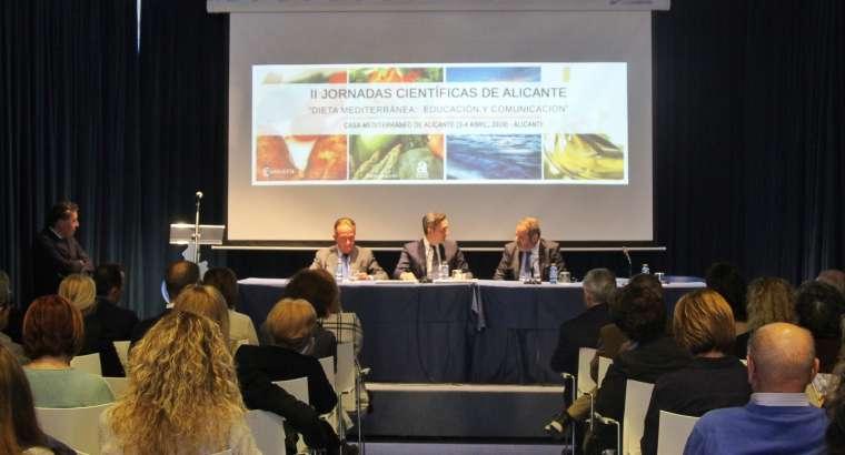 Inauguradas las II Jornadas sobre la Dieta Mediterránea