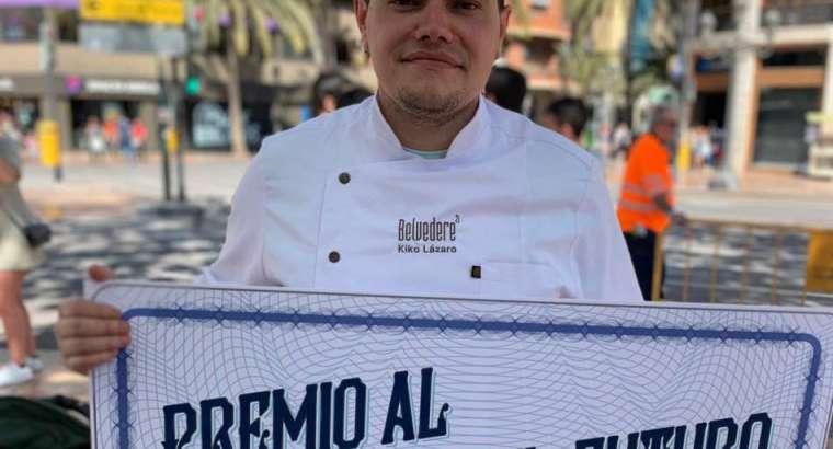 Kiko Lázaro, chef de Belvedere, gana el premio 'Arrocero con Futuro'