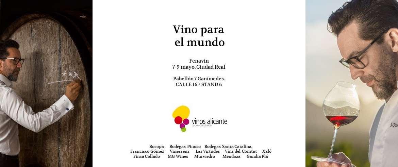 Importante presencia de Vinos de Alicante DOP en Fenavin 2019