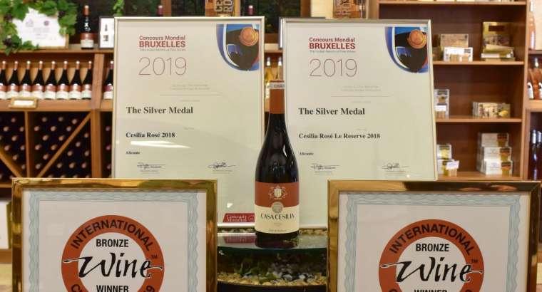 Distinciones internacionales para los vinos rosados de Casa Sicilia