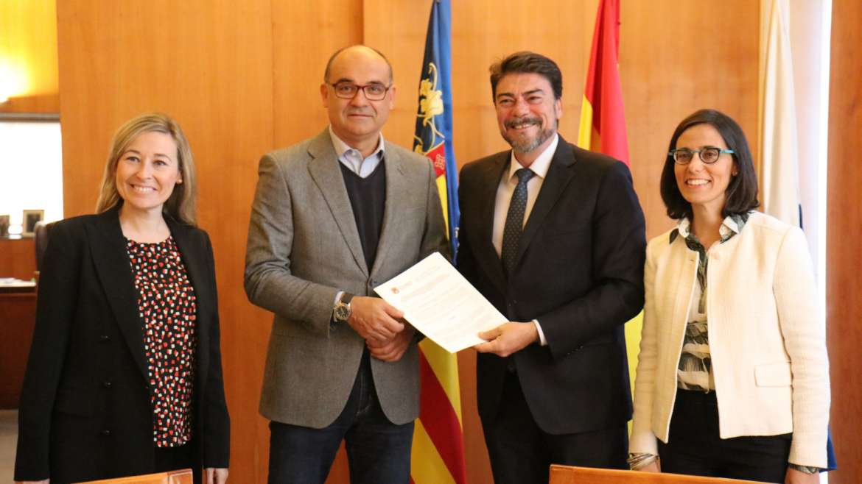 El Ayuntamiento de Alicante y la UA promocionarán el Máster de Arroces y Alta Cocina Mediterránea