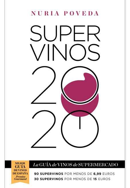 Nuria Poveda publica la guía 'Supervinos 2020'