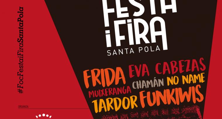 Santa Pola se llena de música, artesanía y gastronomía con la Feria Foc, Festa i Fira 2019