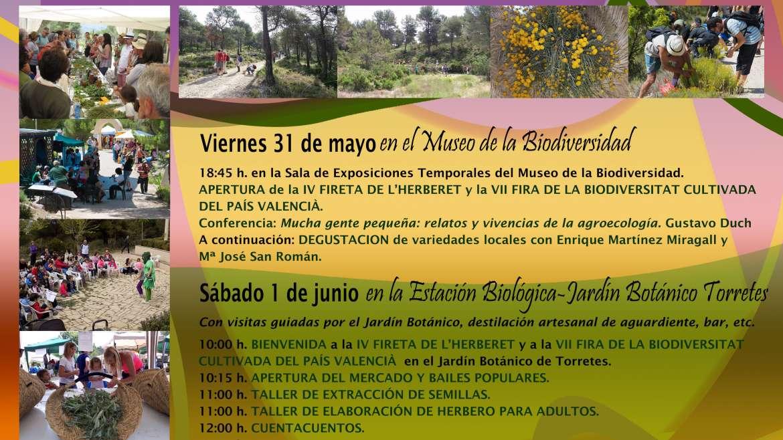 La UA organiza la IV Fireta de l'Herberet i la VII Fira de la Biodiversitat Cultivada