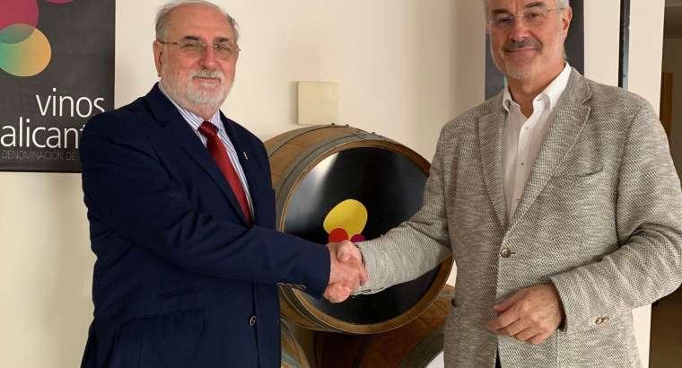 Vinos Alicante DOP y ARA firman convenio de colaboración